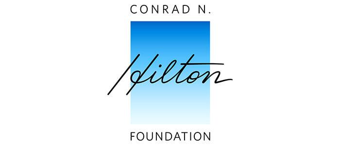 Conrad N. Hilton Foundation logo