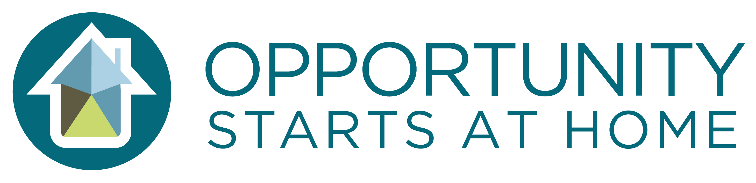 Opportunity Starts at Home logo